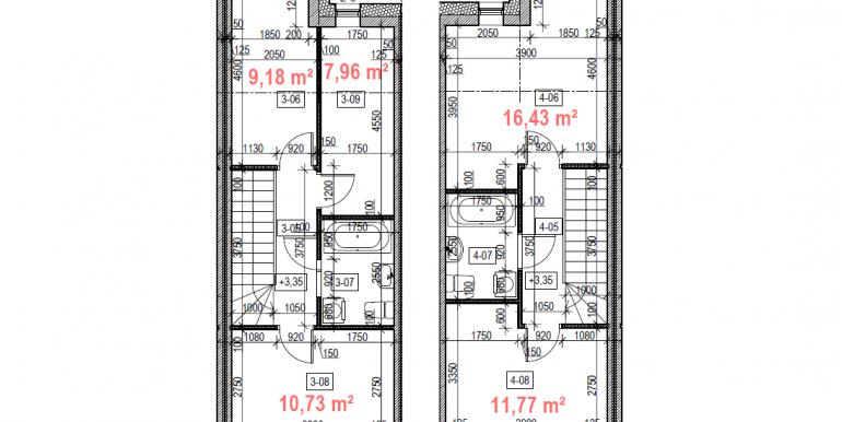 2 ir 3 kambariai